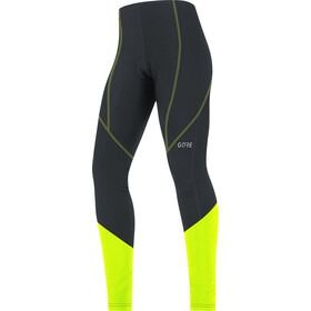 GORE WEAR C3+ Cykelbukser Damer, black/neon yellow